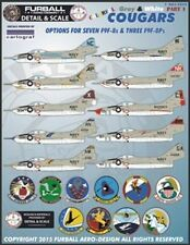 Furball Aero-Design 1/48 Colorful Gray & White Cougars # S4804