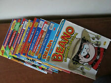 Collection of 10 The Beano Special Comic Job Lot