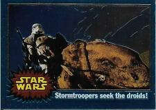 1999 Topps Star Wars Chrome Archives #6 Stormtroopers Seek The Droids!