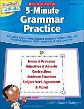 Interactive Whiteboard Activities on CD: 5-Minute Grammar Practice: 180 Quick &