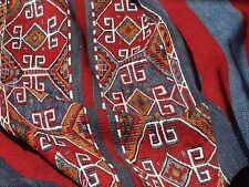 """Pre 1900's Caucasian Shahsavan Kilim Soumack Mafrash Panel Jajim Kilim 3'x4'-3"""""""