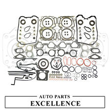 Fit 02~05 Forester 2.0XT Impreza WRX 4WD Turbo EJ20T Overhaul Full Gasket Set