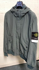 Stone island Micro Reps Hooded Bomber Jacket In  Green BNWT