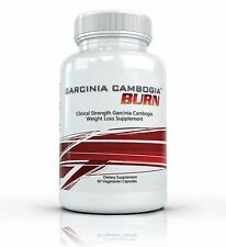 GARCINIA CAMBOGIA BURN Appetite Suppressant Weight Loss & Metabolism Diet Pills