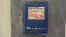 """EPA - Collection """"votre voiture"""" - Simca 1100 Special et TI"""
