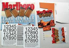 MARLBORO 2000 Unused Lighter DISPLAY pack for STORES Cigarette SMOKE Puff