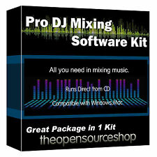 Música creador Virtual Dj Software Kit-Aprender DJ mezclando En Su Laptop O Pc
