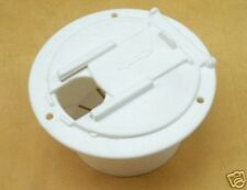 RV Camper Power Cord Hatch / Cover - White - Brand New RV011