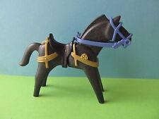 Playmobil * caballo a Special jinete azul 3899 similar a negro sillín 3666