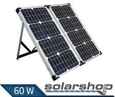 Solarkoffer 60W Mono CAMPING SOLARPANEL NEU