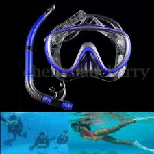 Scuba Glasses Anti Fog Goggle Mask Snorkel Set Dive Gear Snorkeling Swimming