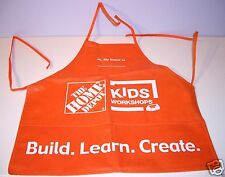 The Home Depot Kids Workshop Apron Build Learn Create New Boys Girls One Size