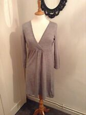 BNWOT boden grey 100% Wool dress size 12