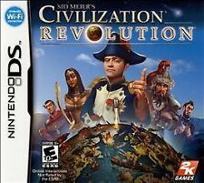 Sid Meier's Civilization Revolution - Nintendo DS Game Complete FREE Shipping!!