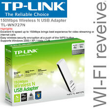 TPLink TL-WN727N 150Mbps N Speed Wireless USB Adapter Network WIFI Receiver NEW