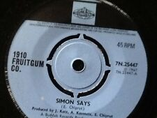 1910 FRUITGUM CO.  SIMON SAYS  1967 . PYE RECORDS classic HIt single