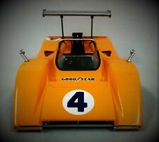 1 1967 McLaren Chevy Race Car Vintage F1 GT Gulf 24 Sport 18 Carousel Orange 12