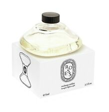 DIPTYQUE MADE IN FRANCE ROSES HOURGLASS DIFFUSER REFILL 2,5 Oz 75ml NEW SEALED