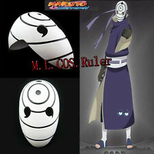 NARUTO Akatsuki Ninja Tobi Obito Madara Uchiha Obito Cosplay Mask Accessories