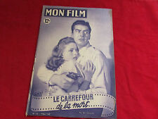 MON FILM  Magazine inc Jane GREER Victor MATURE & Coleen GRAY 09/03/1949  No 133