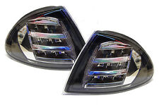 BMW 3 Series E46 Saloon Touring 1998-01 Black With Chrome LED Front Indicators