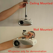 Wall Ceiling Projector Bracket Mini Portable LCD DLP Mount Hanger Stand Holder