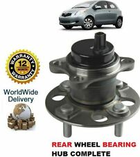 FOR TOYOTA YARIS + YARIS VERSO 2006--  NEW REAR WHEEL BEARING HUB KIT COMPLETE