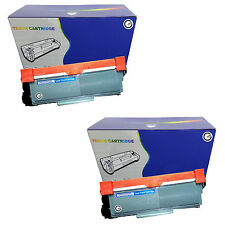 2 Black non-OEM TN2320 Toner Cartridges for DCP-L2500D DCP-L2520DW DCP-L2540DN