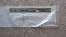 "NEW OEM Ford ""ESCORT LX"" Nameplate Emblem Decal F3CZ5842528B"