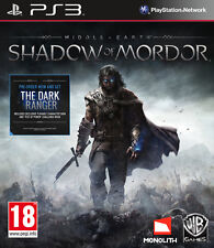 MIDDLE-EARTH: SHADOW OF MORDOR PS3 BRAND NEW SEALED OFFICIAL UK PAL