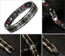 Anion Magnetic Fir Energy Germanium Stones Power Bracelet Health 4 in 1 Armband