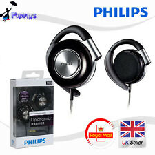 Philips Shs4700 Earclip Stereo Clip Con Auriculares Para Cd Ipod Iphone Etc (Negro)