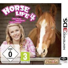 Nintendo 3DS Spiel * Horse Life 4: Mein Pferd, mein Freund, mein Champion ***NEU