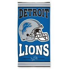 Detroit Lions Beach Towel [NEW] NFL Blanket Vacation Summer Pool CDG