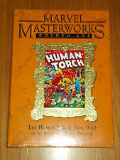 MARVEL MASTERWORKS GOLDEN AGE HUMAN TORCH VOL 142 #9-12 HARDBACK 9780785133506