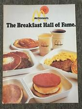 "1977 Vintage McDonald's Ad - ""The Breakfast Hall of Fame"" Egg McMuffin 1019"
