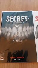 Secret # 1& 2 Image Comics Near Mint First Printing Bagged & Boarded