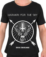 HARAKIRI FOR THE SKY Deer Twilight T-Shirt - XL / Extra-Large - 162518