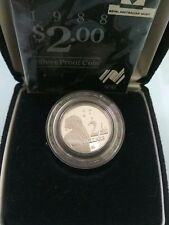 Willie: Australia 1988 2dollar Silver coin