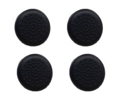 4 x nero silicone Thumb Stick Grip Cover Cap per Sony PS4 Controller Analogico