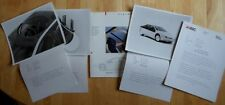 ASC Vision Concept Car 1987 press pack with photos & brochure - American Sunroof