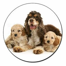 Cocker Spaniel and Cockerpoo Fridge Magnet Stocking Filler Christmas G, AD-CP4FM