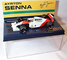 Minichamps 1:43 Ayrton Senna McLaren Honda MP4/6 World Champion 1991
