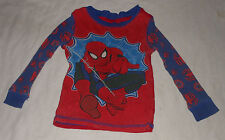 Disney Marvel Spiderman Long-Sleeve Cotton Pajama Top Boys Spider-Man - Size 2