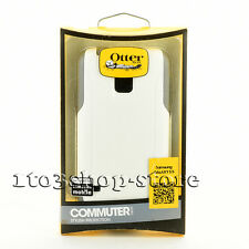 OtterBox Commuter 2-Layers Hard Case Snap Cover for Samsung Galaxy S5 White/Gray