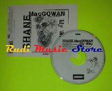 CD Singolo SHANE MACGOWAN My way Uk ZTT RECORDS LTD   mc dvd (S7)
