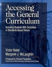 Accessing the General Curriculum : Including Students with Disabilities in...