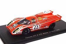PORSCHE 917 K 1ST WINNER LE MANS 1970 ATTWOOD HERRMANN 1:43 SPARK 43LM70 RESIN