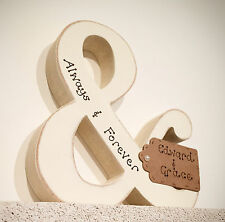 Personalised Wedding, Engagement, Anniversary Wooden gift & symbol