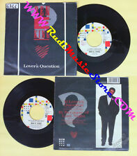 LP 45 7'' BEN E KING Lover's question Because of last night 1987 no cd mc dvd